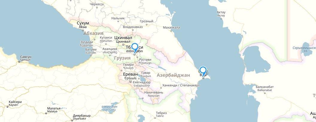 Рейсы победы в Баку и Тбилиси