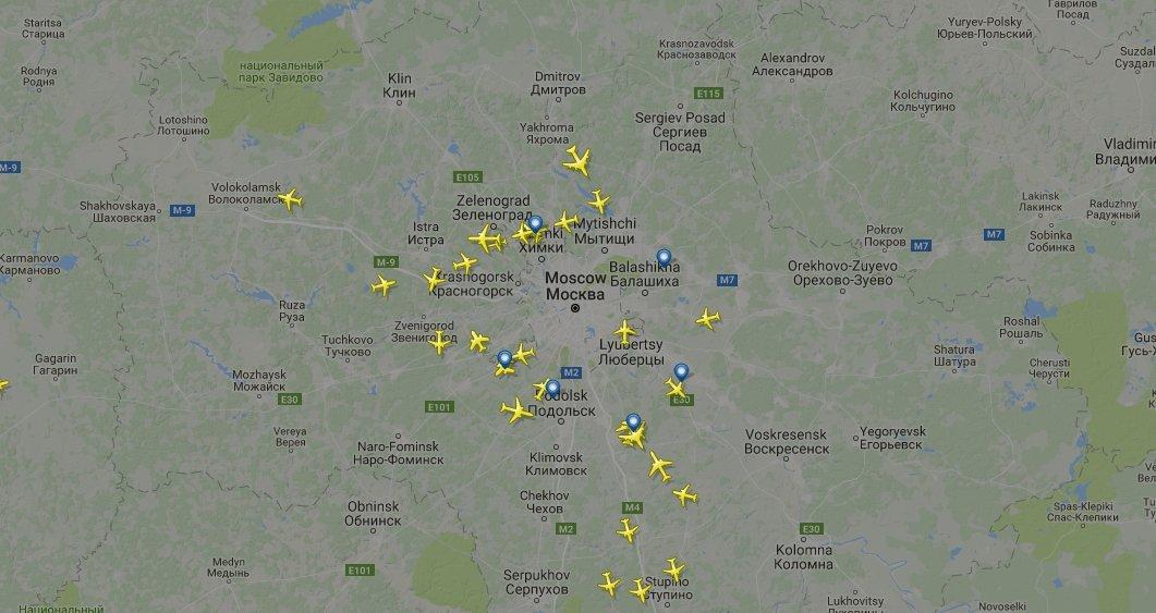 Полеты из Москвы