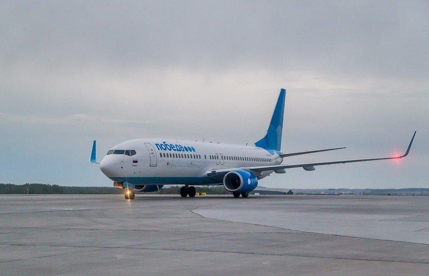 Самолет boeing 737-800 победа