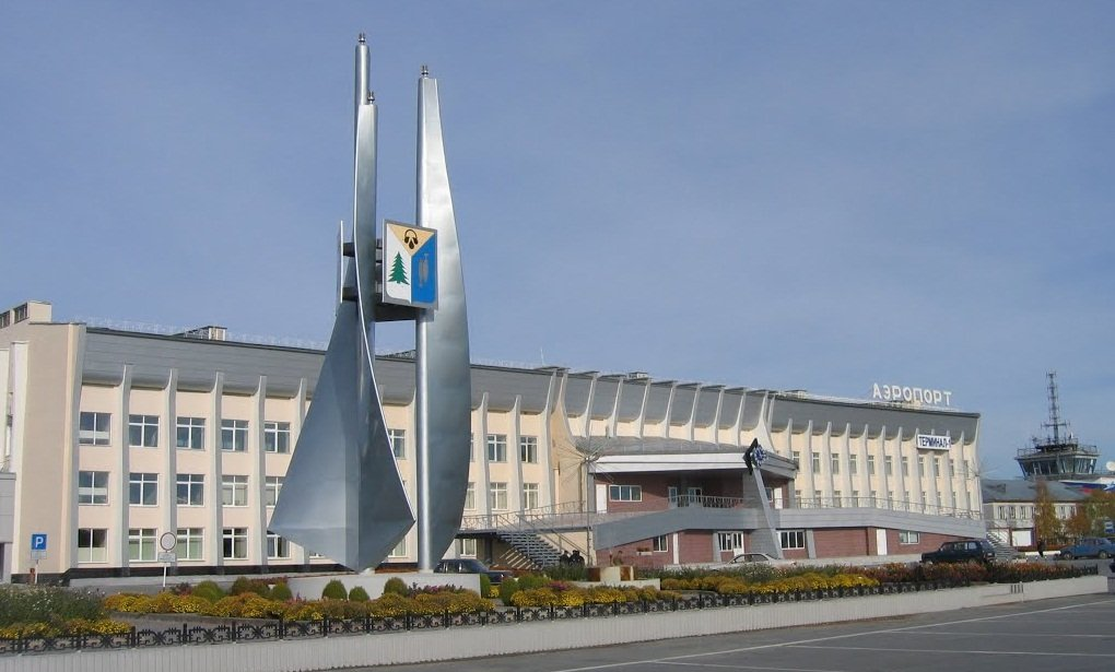 Аэропорт в городе нижневартовск