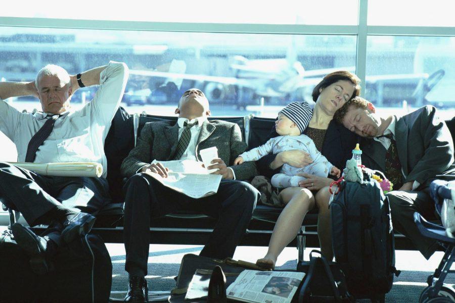 Задержка рейса в авиакомпании