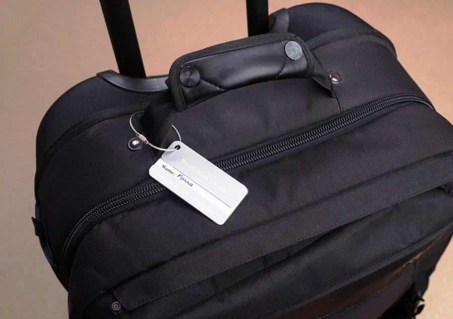 Получить бирку на багаж в аэропорту