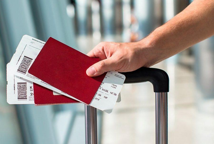 Документ на перелет выдается на получателя