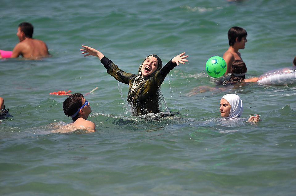 Пляжи для мусульман