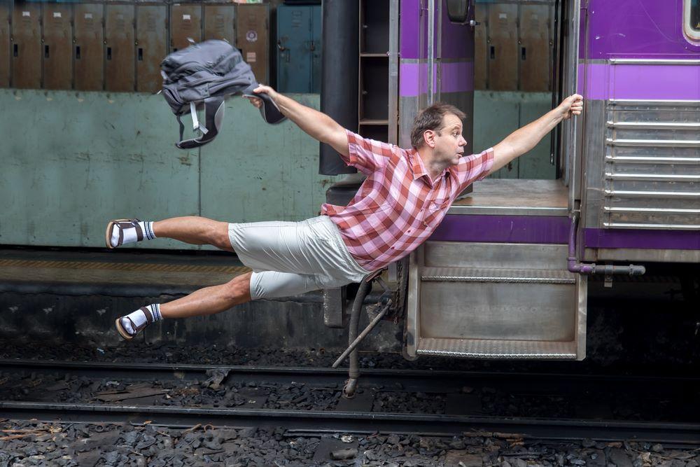 Спешим на поезд