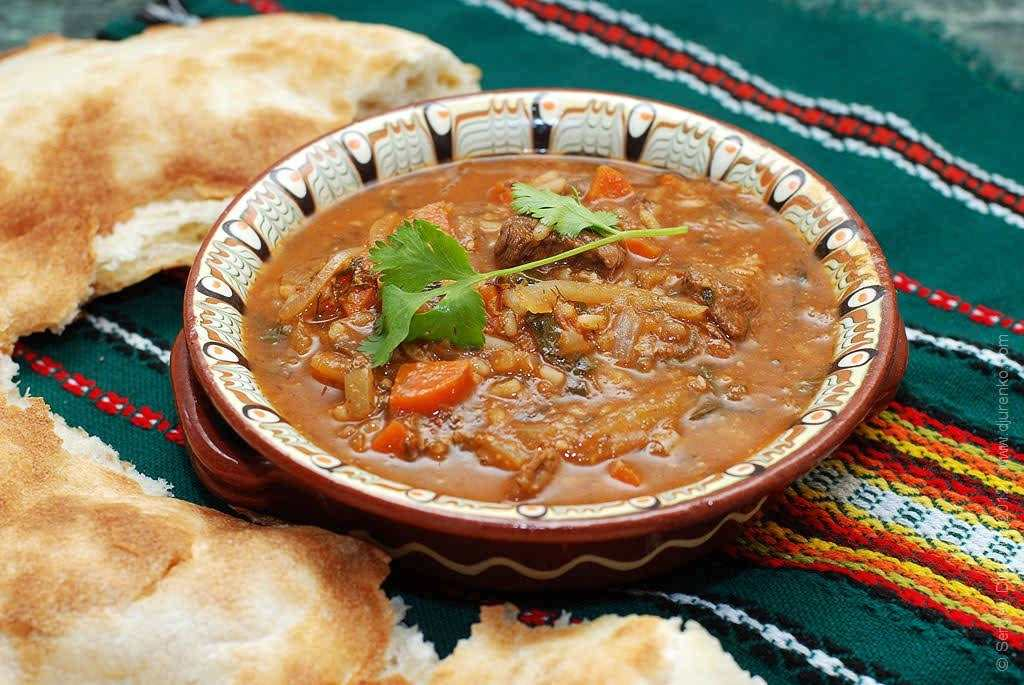 Кавказское блюдо