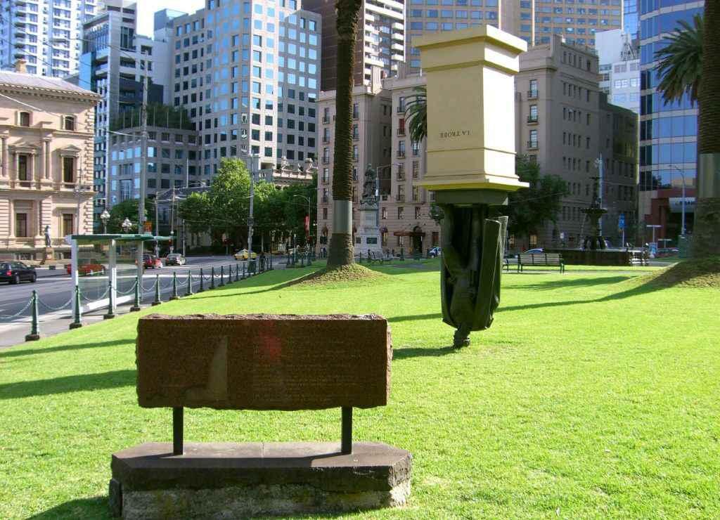 Памятник в Мельбурне
