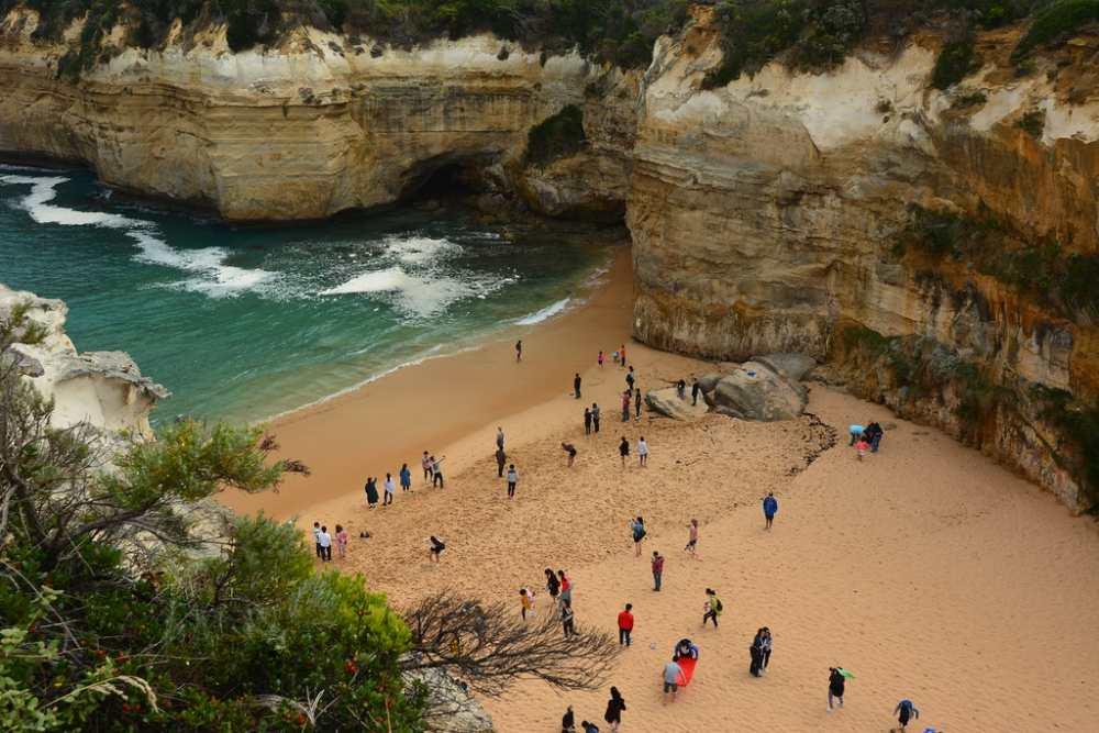 Пляж в штате Виктория