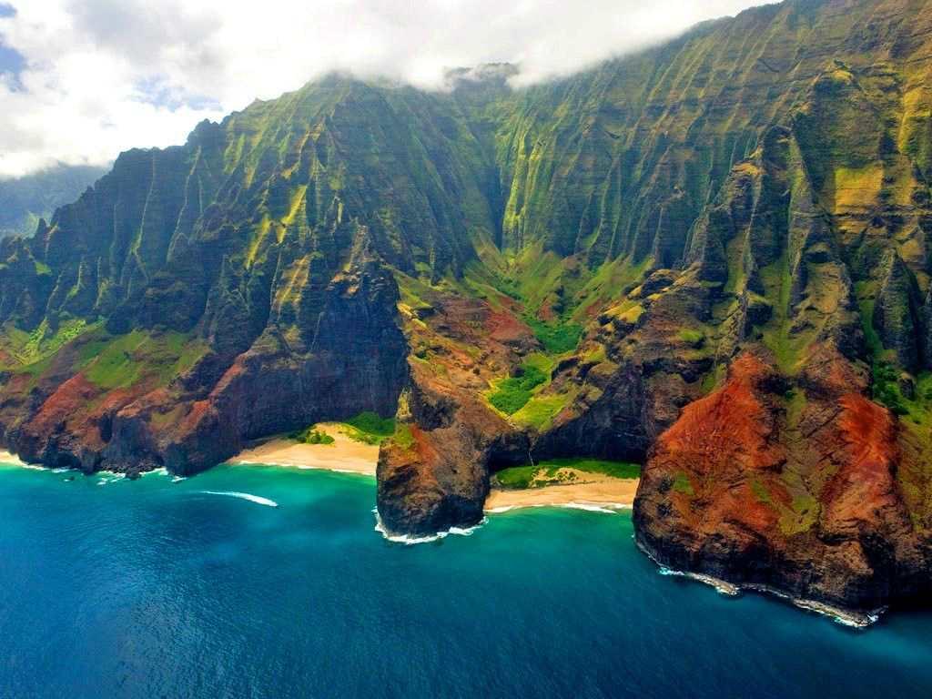 Пляж на Гавайях