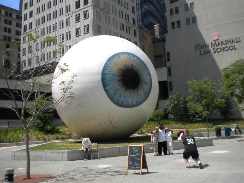 Памятник глазному яблоку