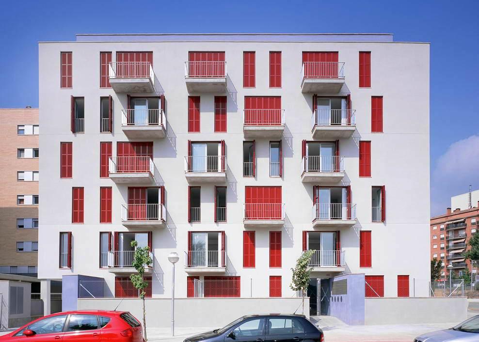 Многоквартирный дом в Испании
