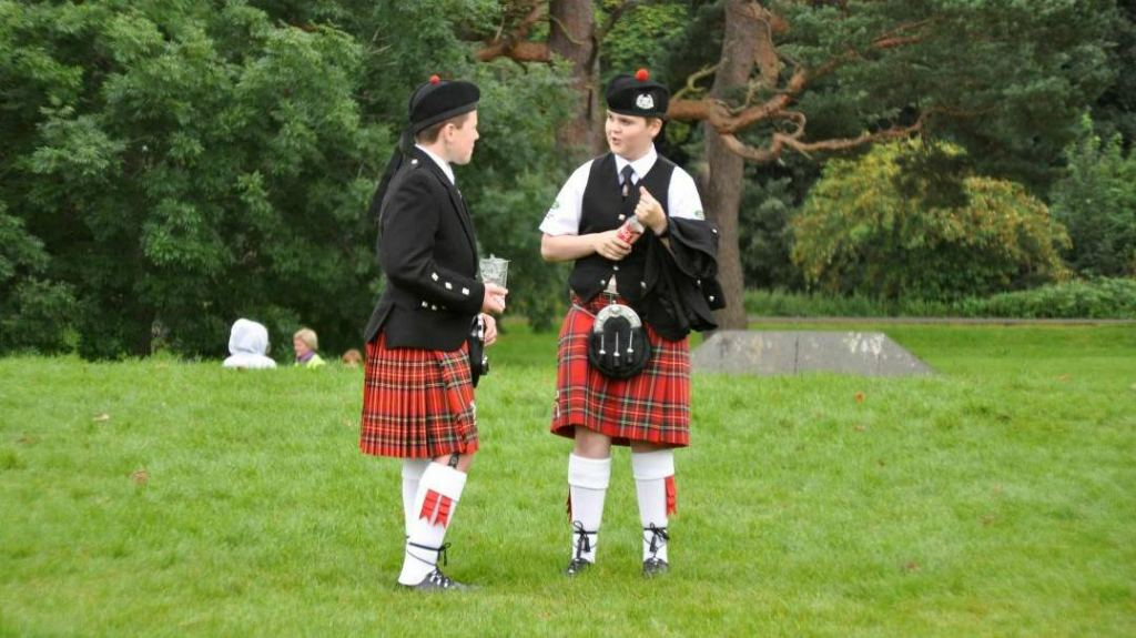 Подростки Шотландцы