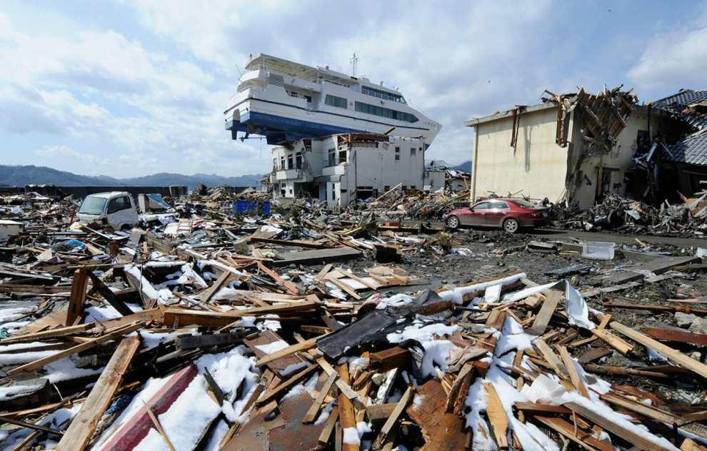 Цунами 2011 года на японских островах
