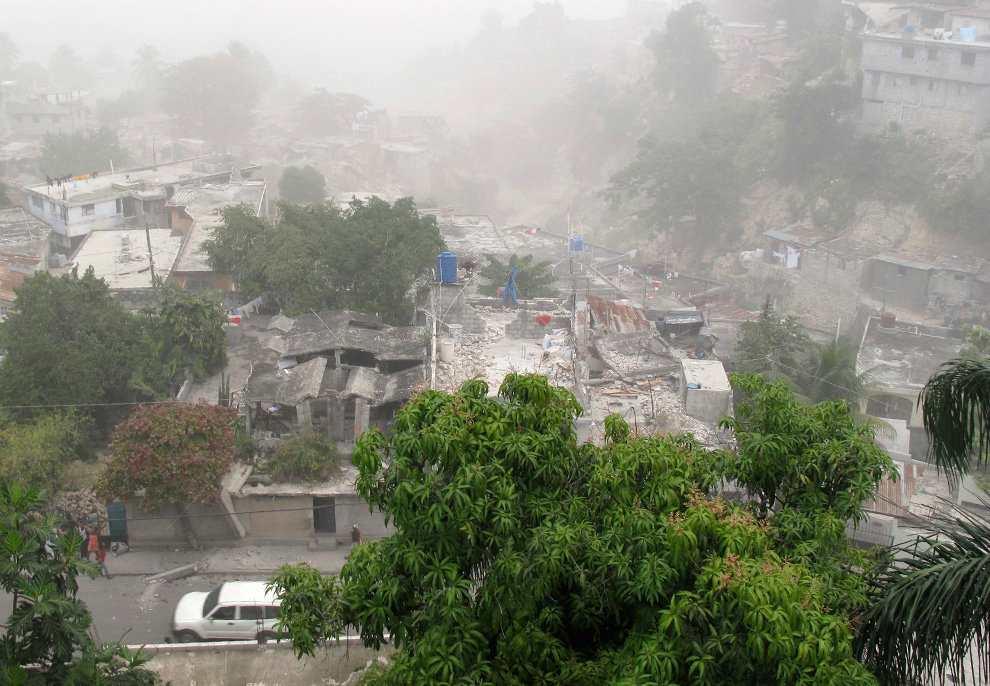 Землетрясение на Гаити 2010 г.