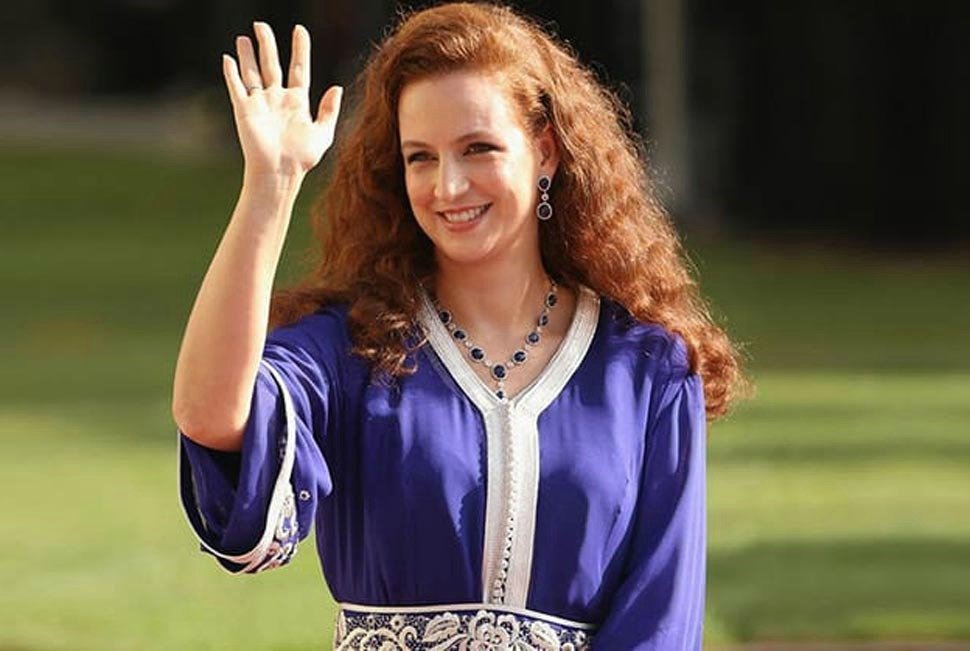 Жена мароканского короля