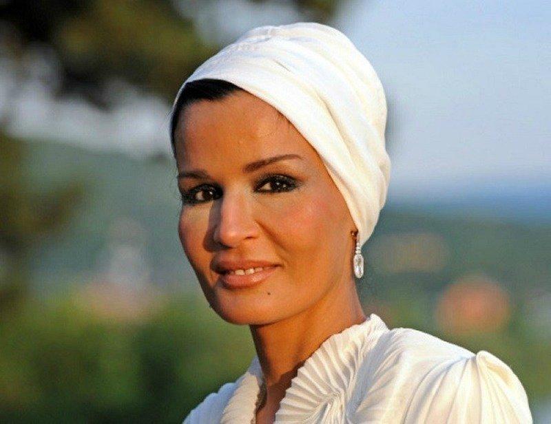 Вторая из трех жен эмира Катара