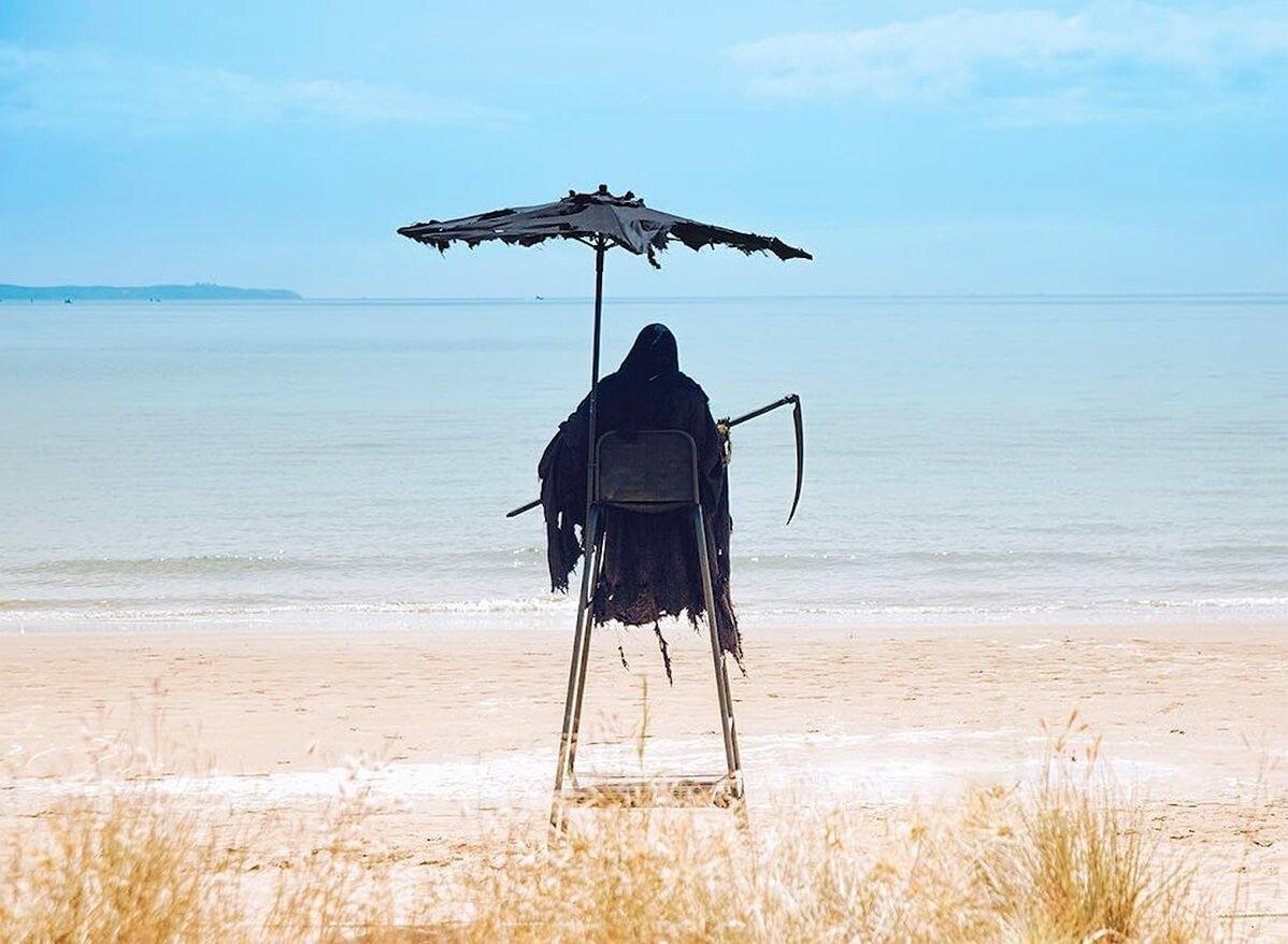 смерть на пляже