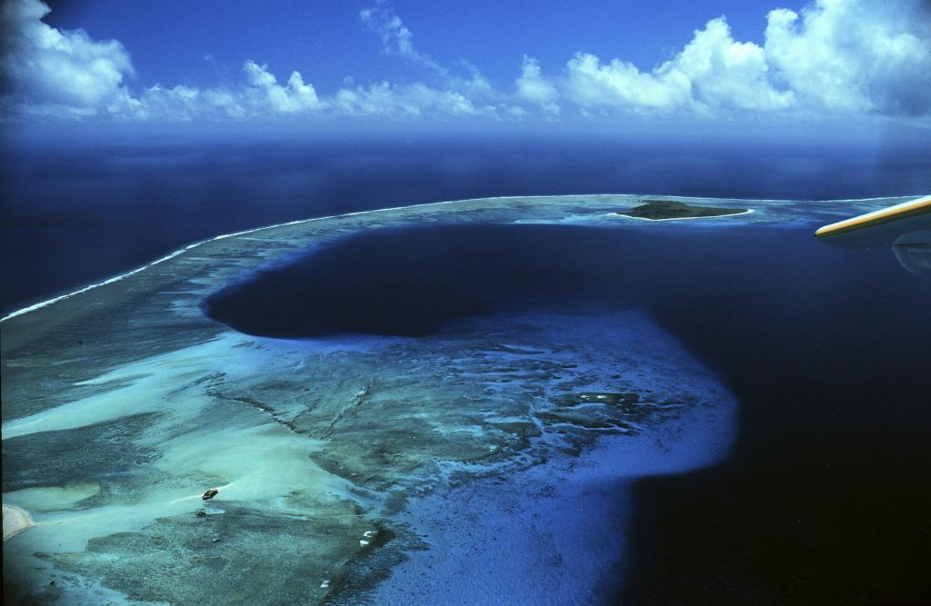 Опасный остров около берегов Австралии