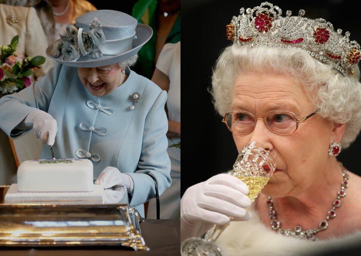 Еда для королевы Англии