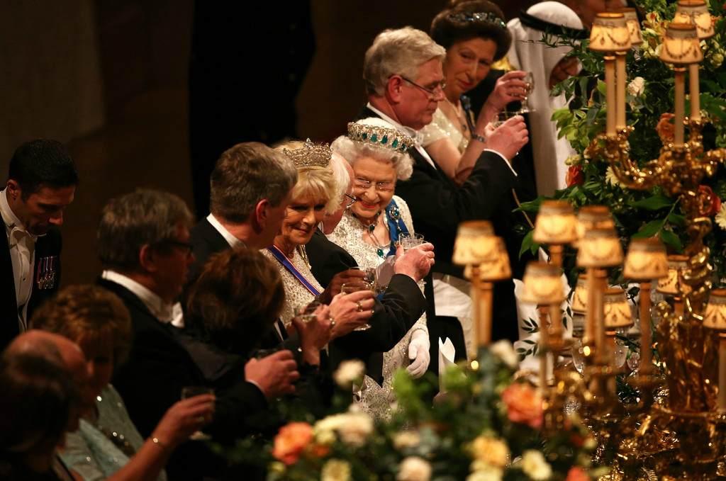 Ужин английской королевы