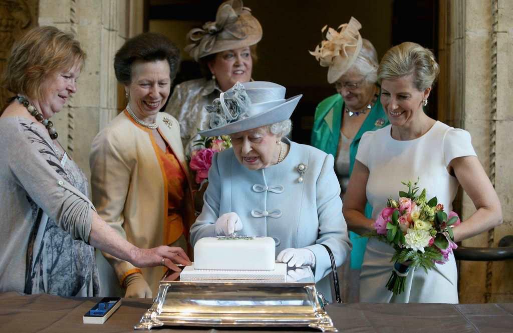 Сладкий торт для королевы