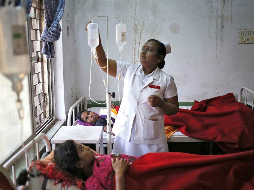 Индийская больница