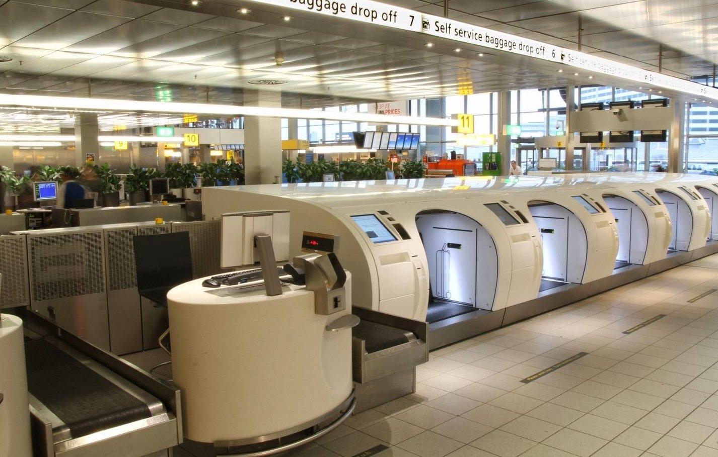 Система Drop-off в аэропорту