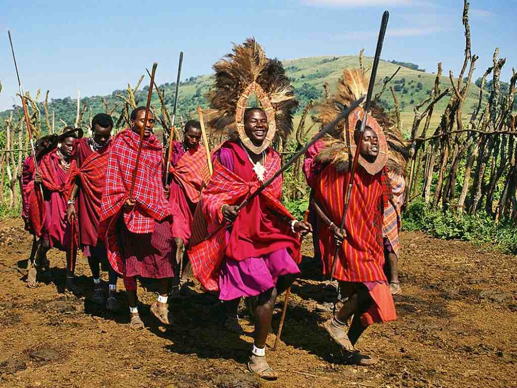 Жители Танзании