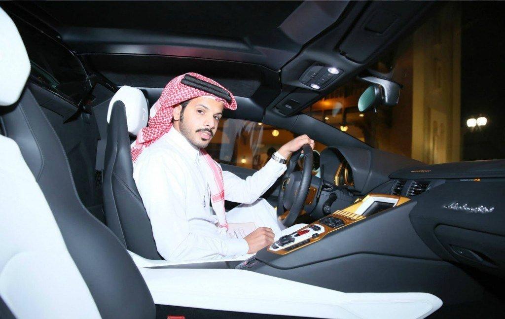 Араб за рулем