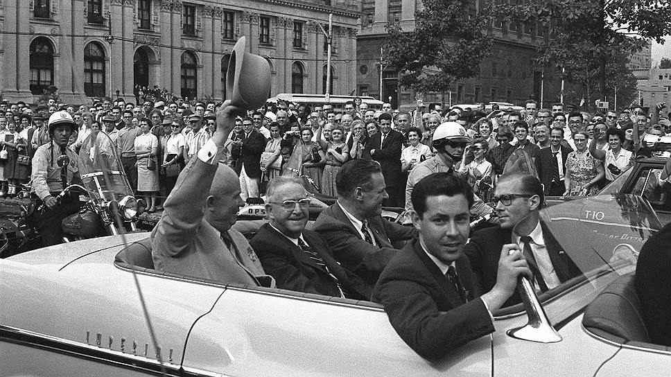 Визит Хрущева в Америку