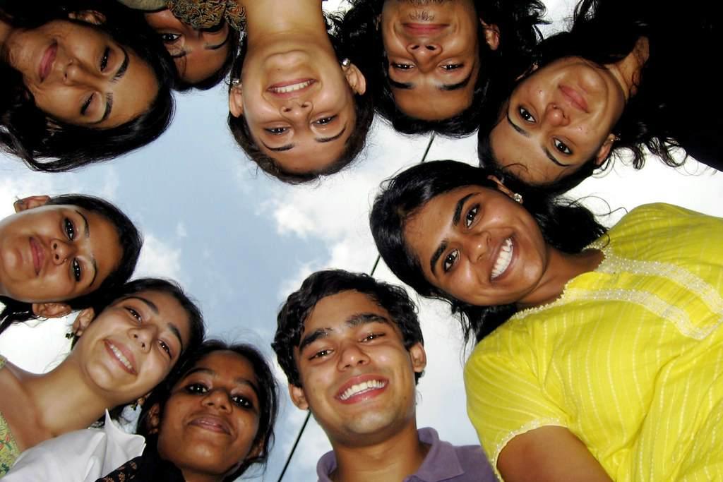 Молодые Индусы