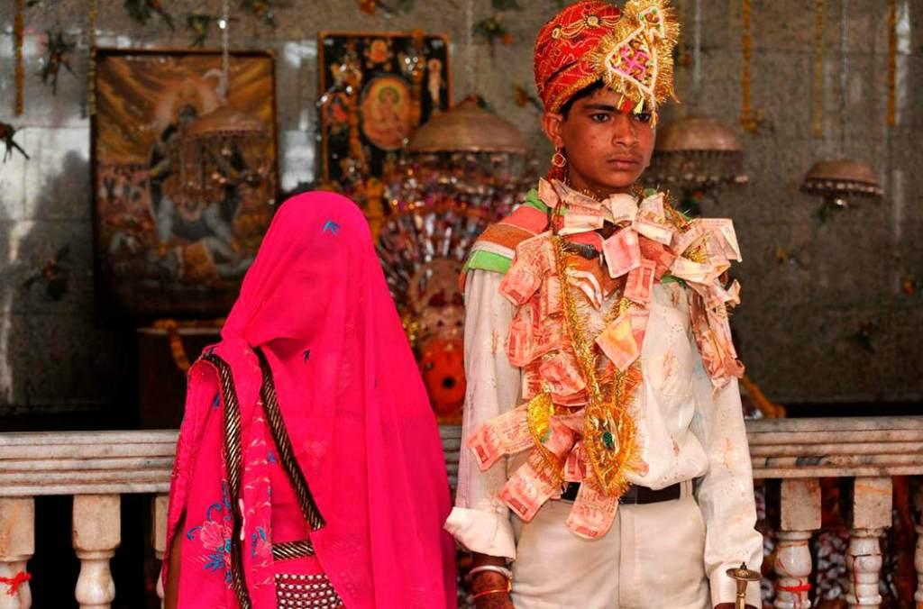 Детская свадьба в Индии