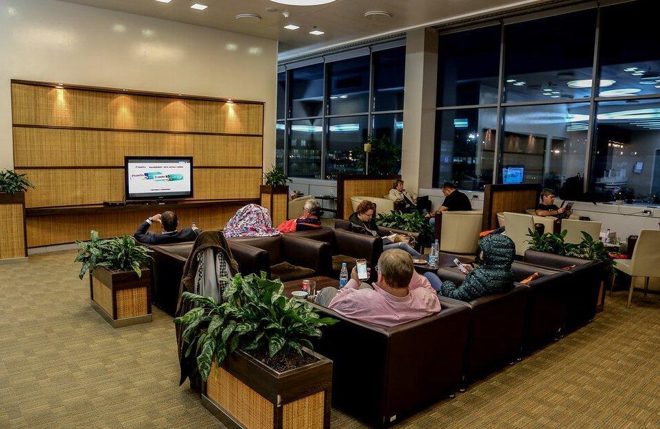 Airport Business Lounge Домодедово