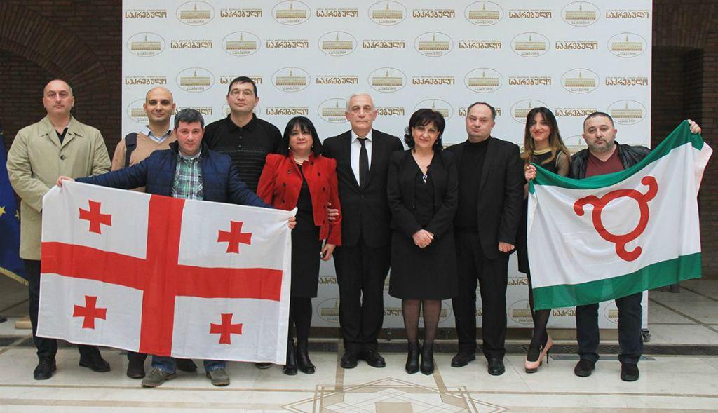 Жители Грузии и Ингушетии