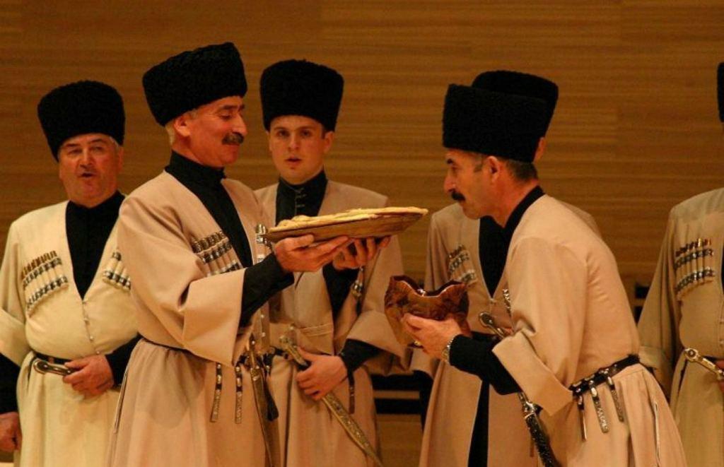 Жители Осетии