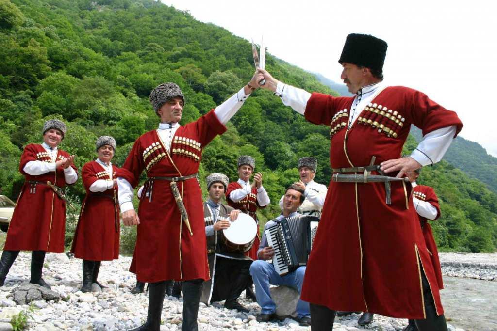 Жители Абхазии