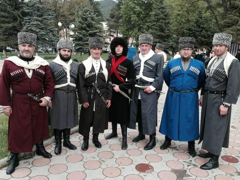 Представители Карачаево-Черкесской Республики