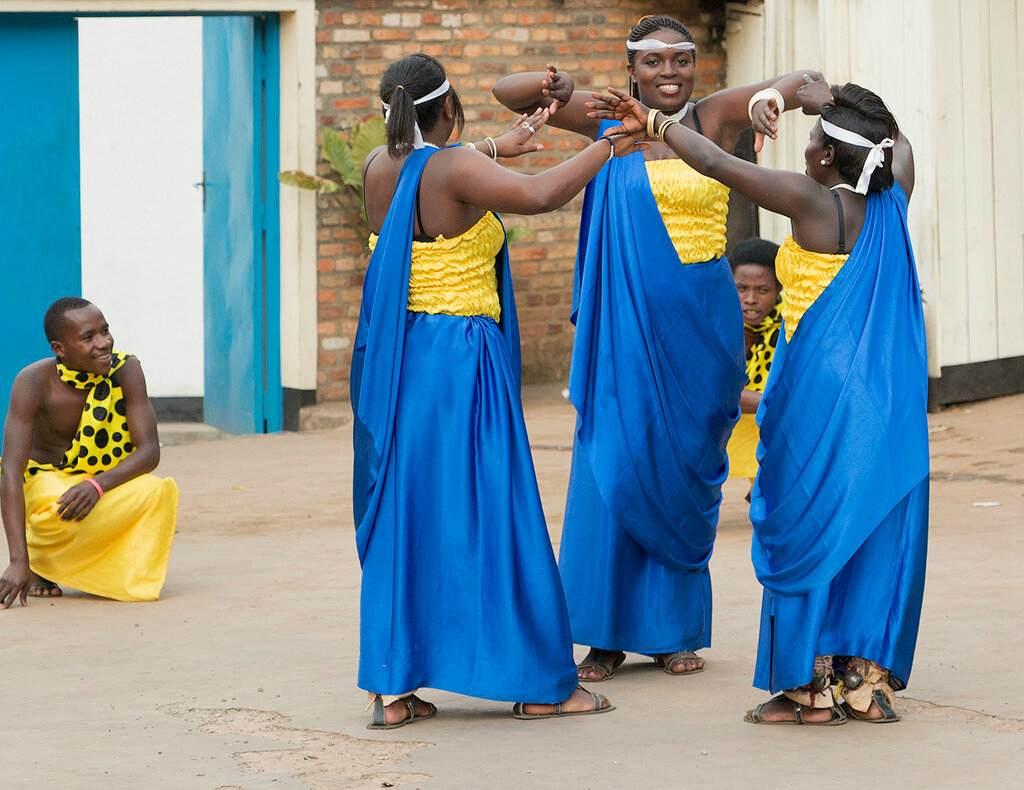 Жители Руанды