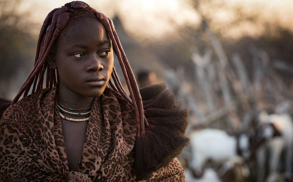 Женщина племени Химба