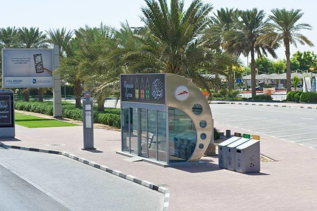 Остановка в Эмиратах