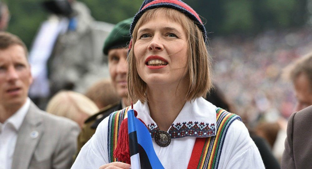 Женщина из Эстонии