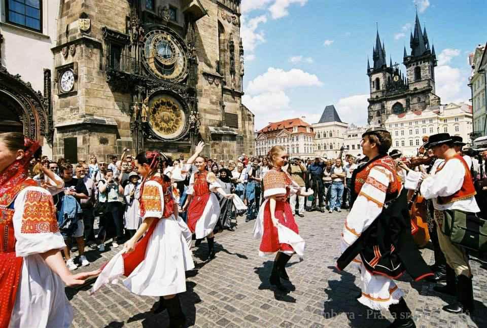 Жители Чехословакии