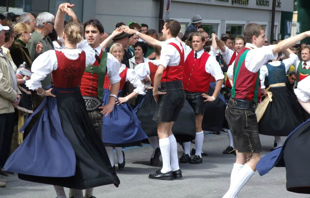 Жители Австрии
