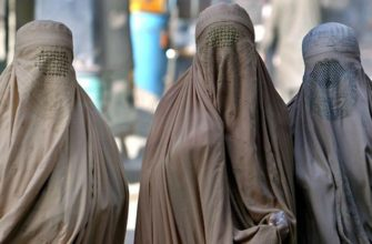 Мусульманские женщины в паранже