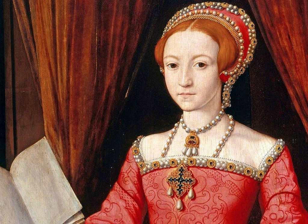 Королева Елизавета 1 в молодости