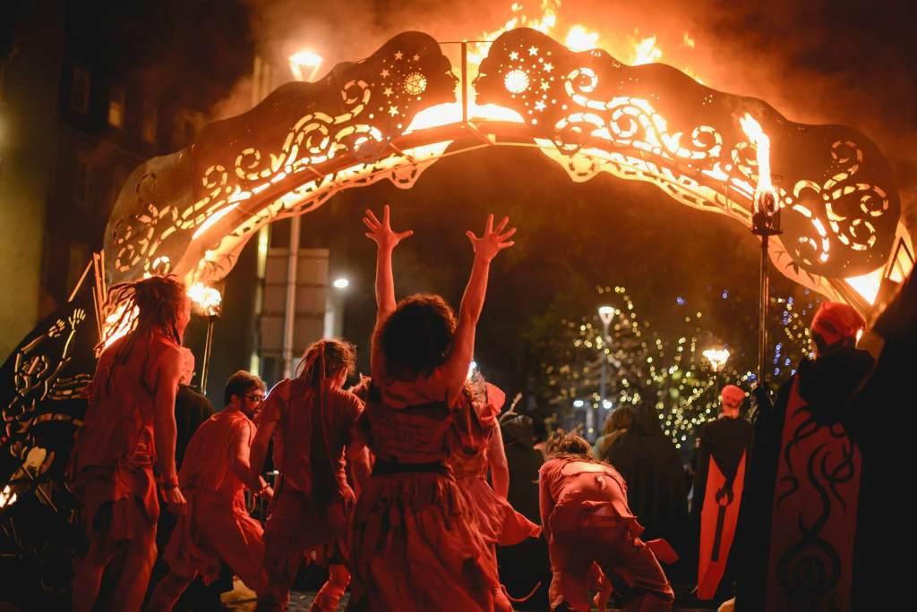 Языческий праздник в Шотладнии