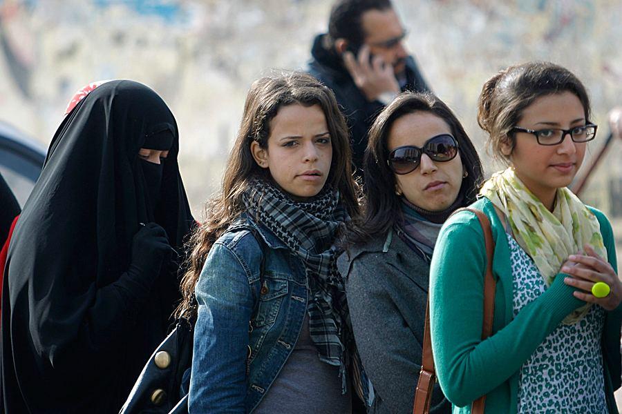 Женщины в Египте сегодня