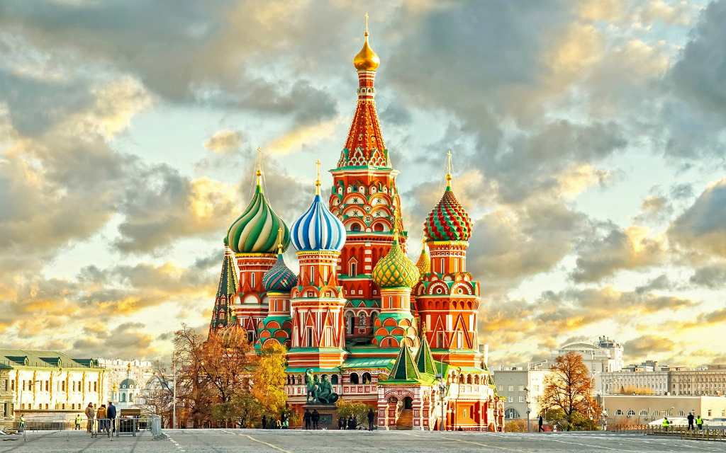 Храм в центре Москвы