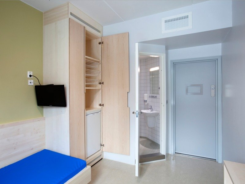 Тюремная камера в Норвегии