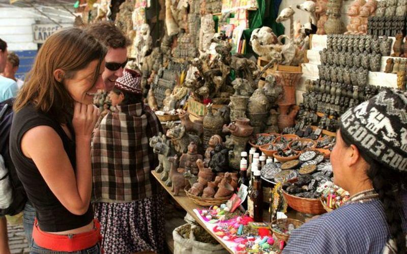 Мистический рынок в Боливии